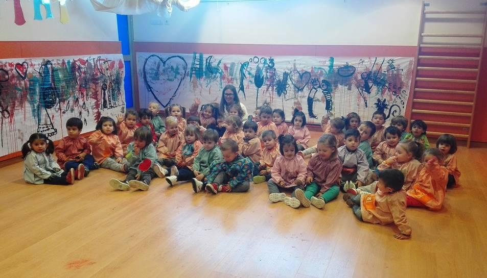 L'art arriba a la Llar d'Infants Municipal Dolors Medina