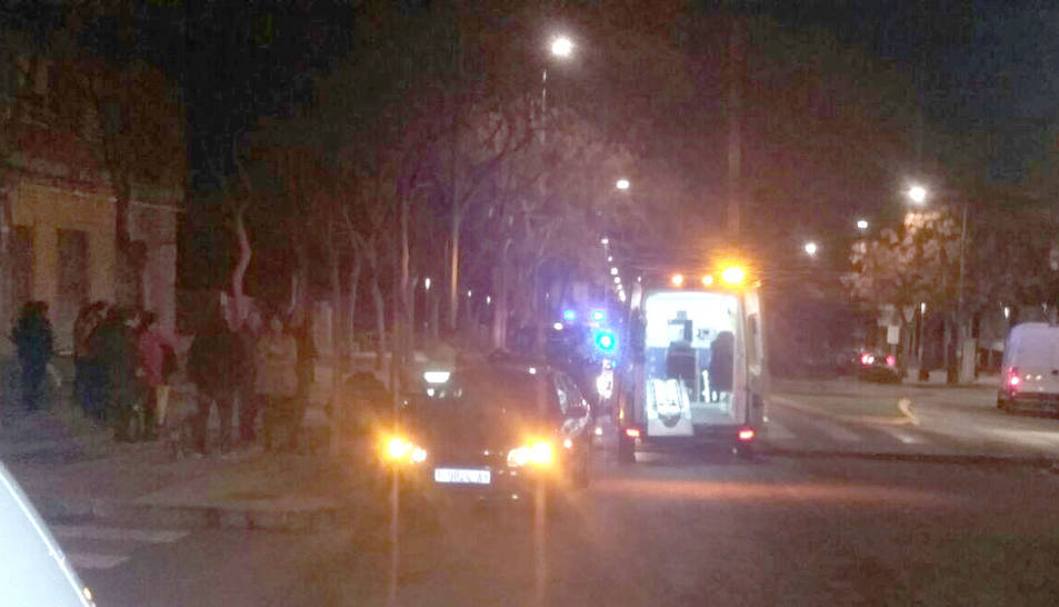 Un adolescent, ferit lleu a causa d'un atropellament a SP i SP
