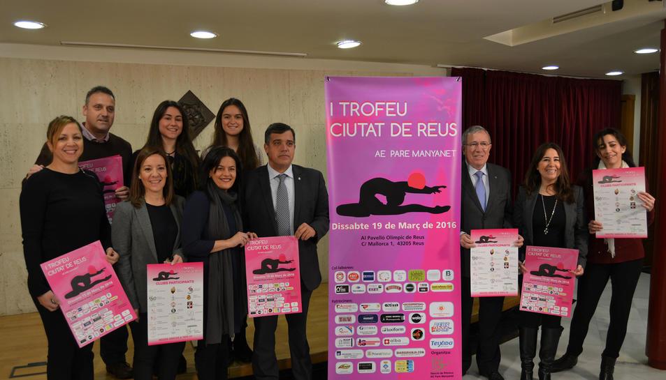 El Pavelló Olímpic Municipal celebra I Trofeu Ciutat de Reus de Gimnàstica Rítmica