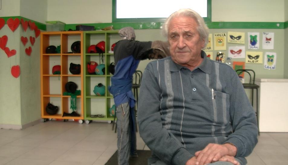 Àngel Oriol, durant una entrevista al Diari Més, fa unes setmanes.