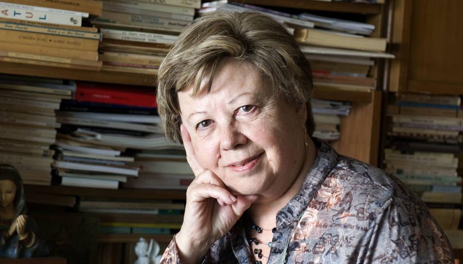 Un vermut poètic homenatja a Olga Xirinacs en el marc del Dia Mundial de la Poesia