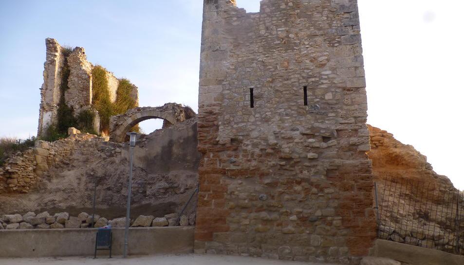 Imatge del Castell d'Els Garidells.