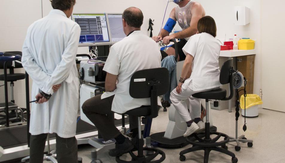 La Unitat de Medicina de l'Esport del Sant Joan, acreditada amb el nivell preferent pel departament de Salut