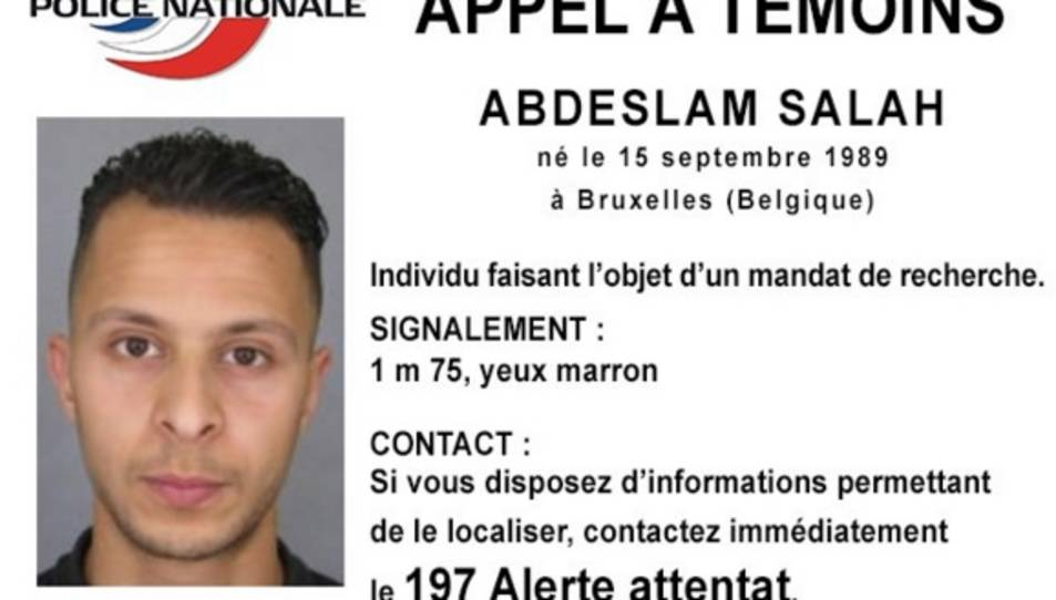 Bèlgica arresta Salah Abdeslam, el terrorista fugitiu dels atemptats de París