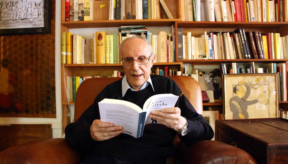 El capellà i escriptor Josep Maria Ballarín mor als 96 anys
