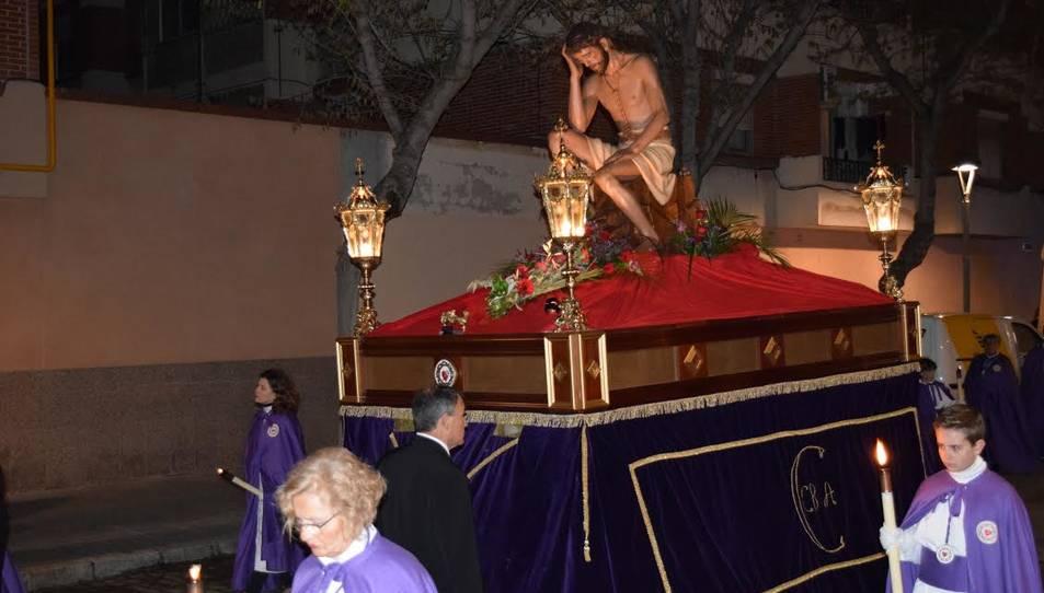 Processó de la Cofradía del Cristo del Buen Amor y Nuestra Señora de la Amargura.
