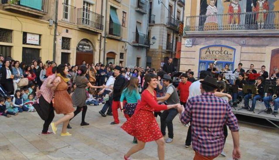 La plaça Sedassos és un dels ecenaris més preuats pel festival de jazz.