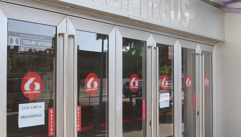 La liquidació de Lauren Reus bloqueja la reobertura dels cinemes a Redessa