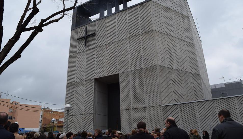 El temple situat a la plaça Constitució del barri de Bonavista té 18 metres d'alçada i una capacitat per a garirebé 300 persones.