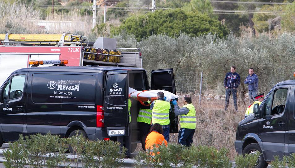 Set de les 13 víctimes de l'accident eren italianes