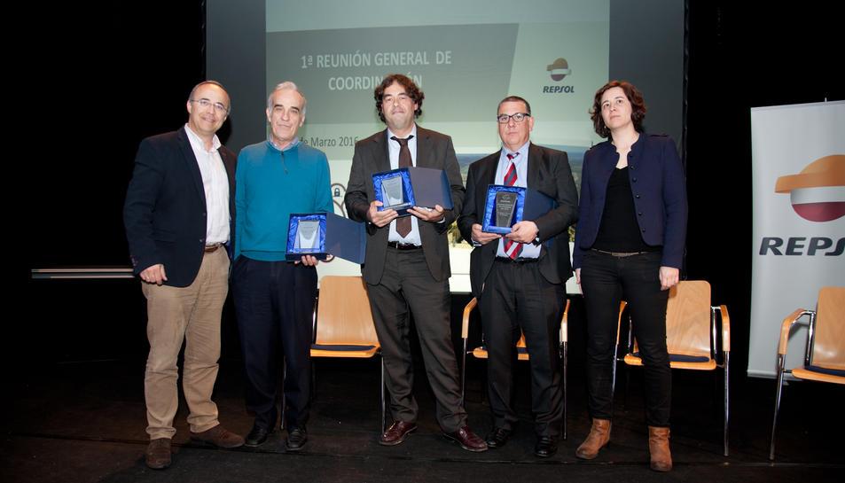 Repsol lliura els premis de seguretat empresarial