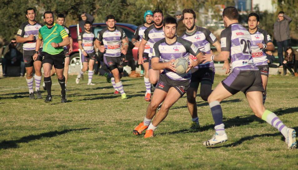 Els Voltors del Club de Rugby de Tarragona s'acomiaden de DHC
