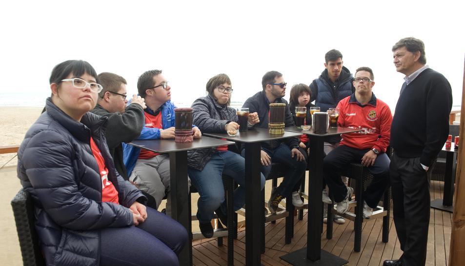 El Nàstic crea un equip per a joves amb Síndrome de Down