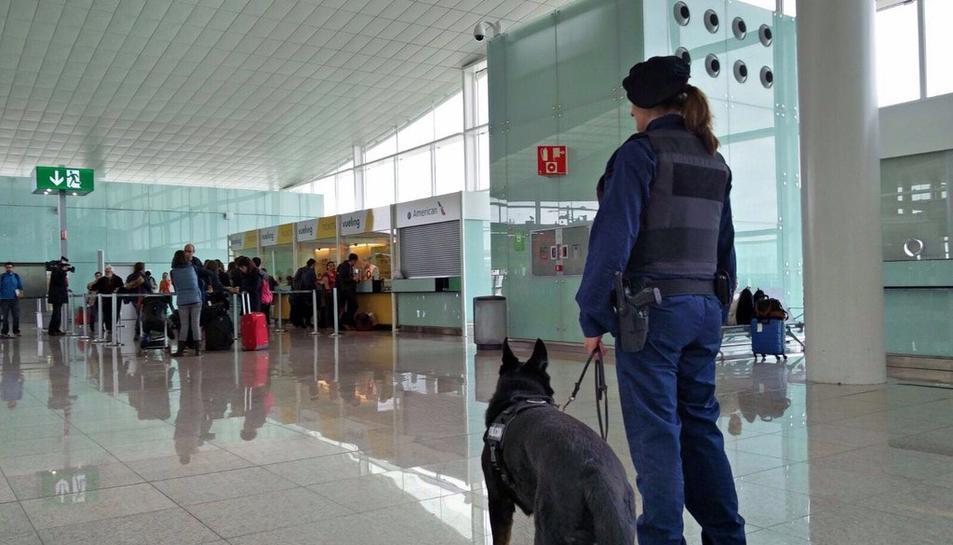 Es reforça la seguretat dels aeroports de Catalunya i del metro