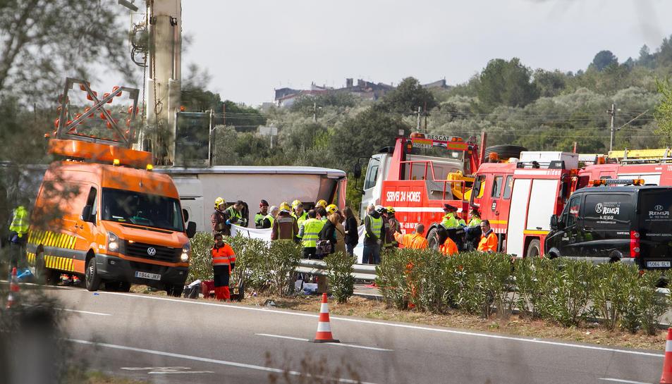 'Salvem les Ambulàncies' titlla de «caos» l'atenció a les víctimes de Freginals