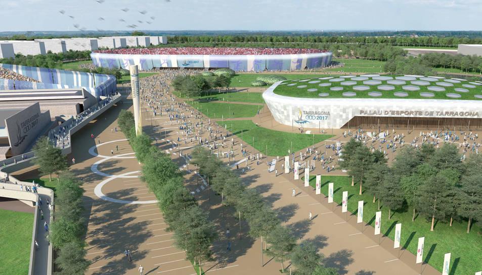 Copisa renuncia al Palau d'Esports perquè és econòmicament inviable