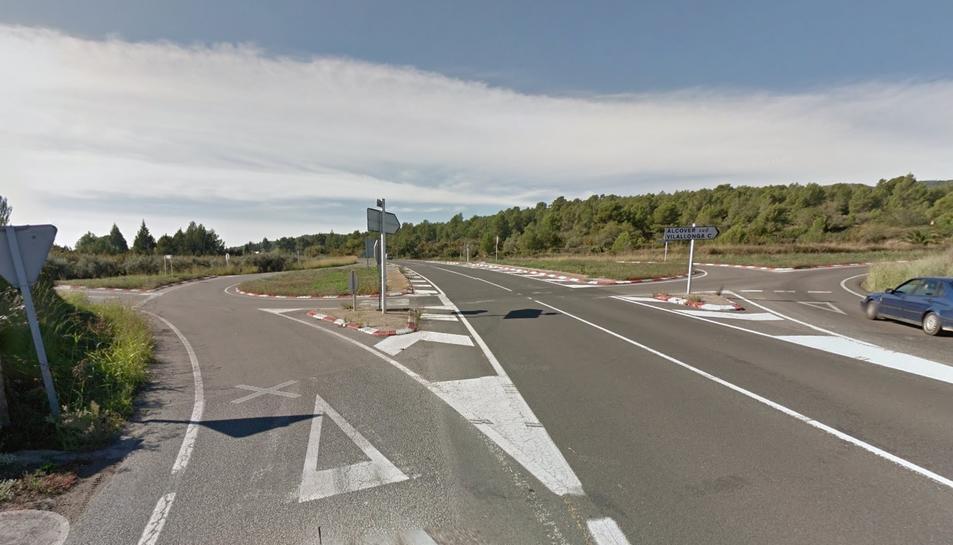 Una rotonda posarà fi al punt negre de la cruïlla de l'antiga C-14 i la carretera de Vilallonga