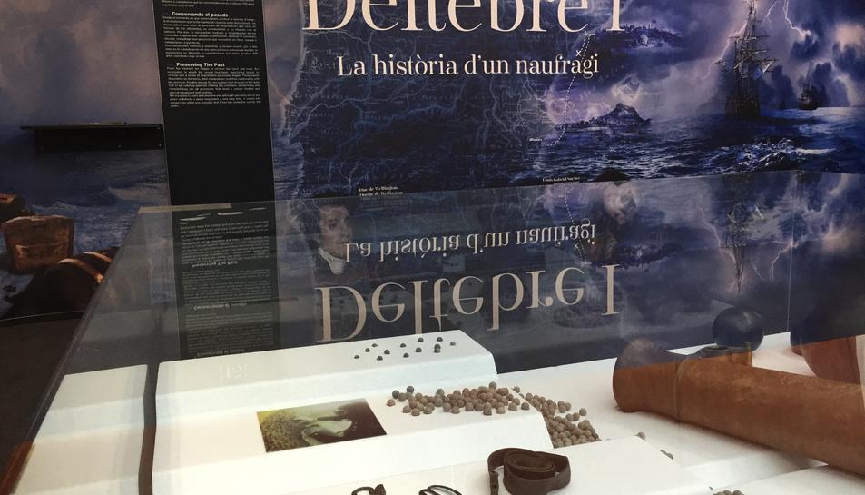 Deltebre acull l'exposició «Deltebre I. La història d'un naufragi»