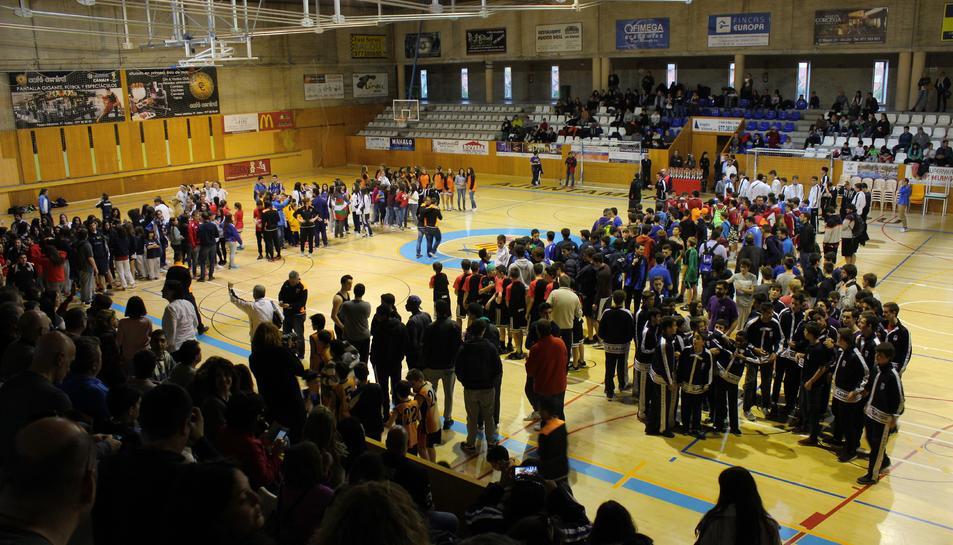 En la 6a edició de la Mare Nostrum Cup Basket ha acollit fins a 122 equips arribats de les quatre províncies catalanes.