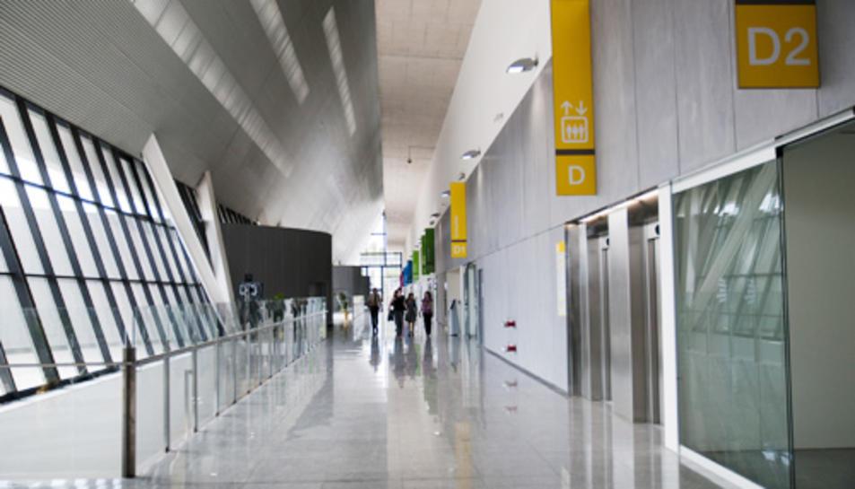Imatge de l'interior de l'Hospital Sant Joan de Reus.
