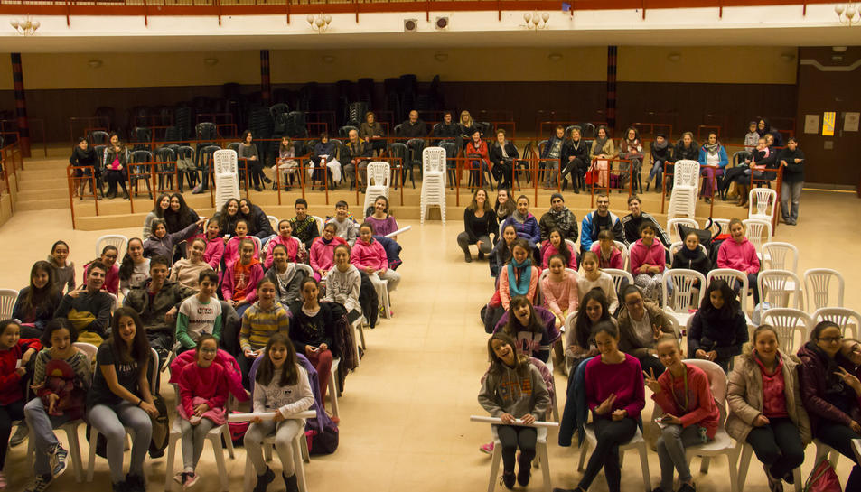 El projecte Dansa'l converteix Sarral en un centre d'aprenentatge intensiu de dansa