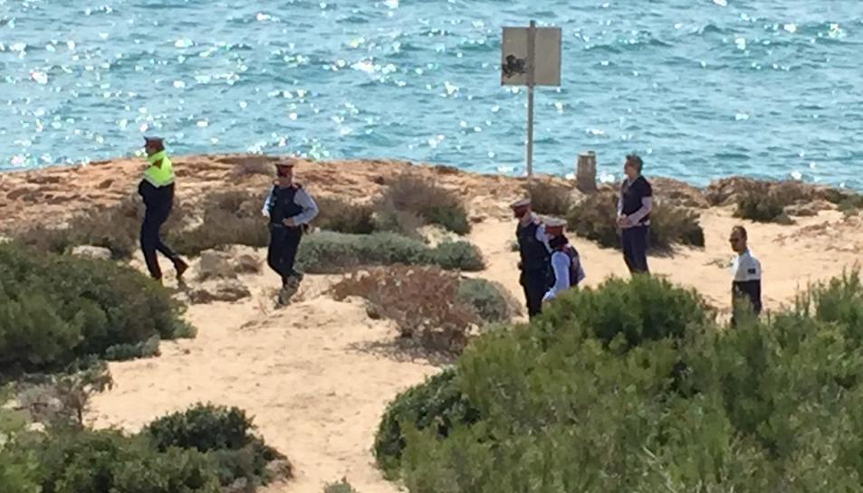 Troben un projectil de la Guerra Civil a la zona dels Morrots de Cala Romana
