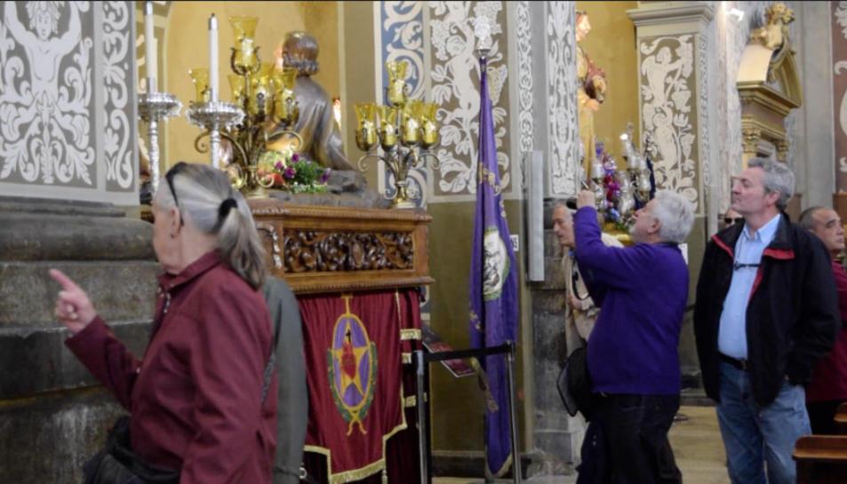 L'esglésiade Sant Agustí, punt obligat de visita en la Setmana Santa tarragonina