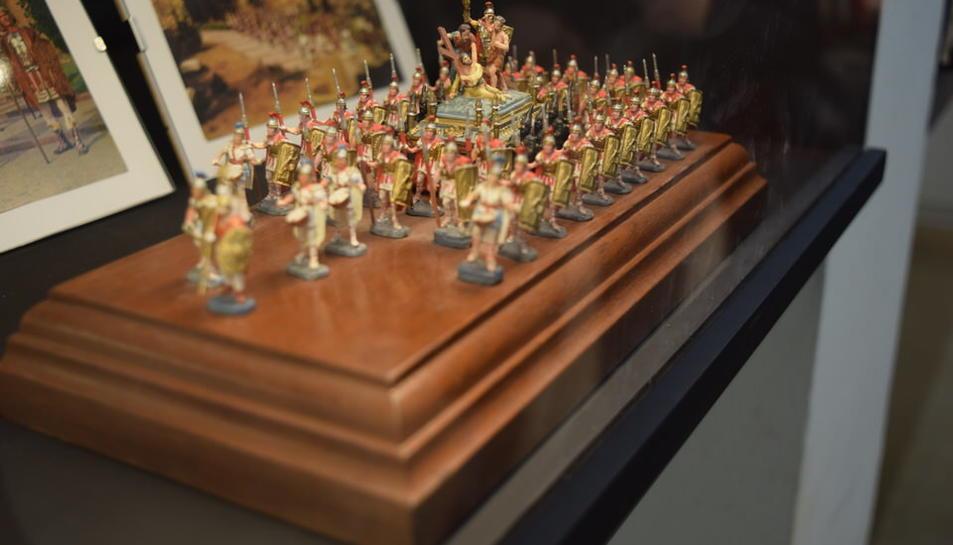 Exposició dels passos de Setmana Santa de Tarragona en miniatura