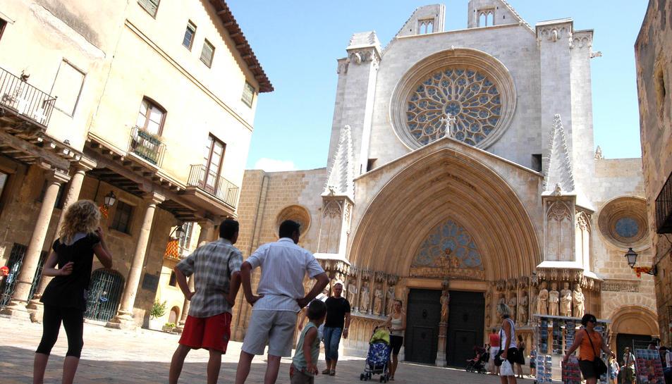 Un projecte europeu estudia el centre històric de Tarragona al voltant de la Catedral