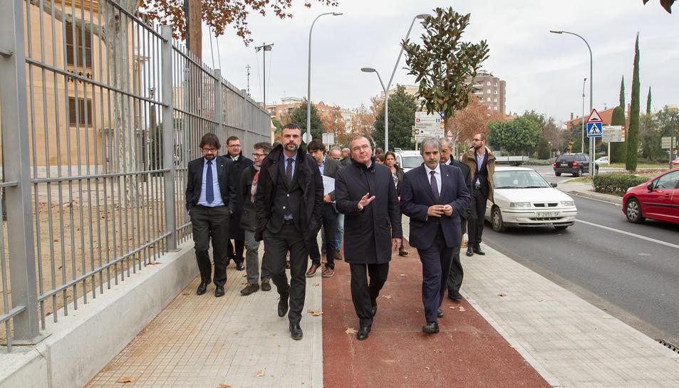 Santi Vila, Carles Pellicer i Joaquim Nin –que també hauria d'abonar multa– estrenen les millores.