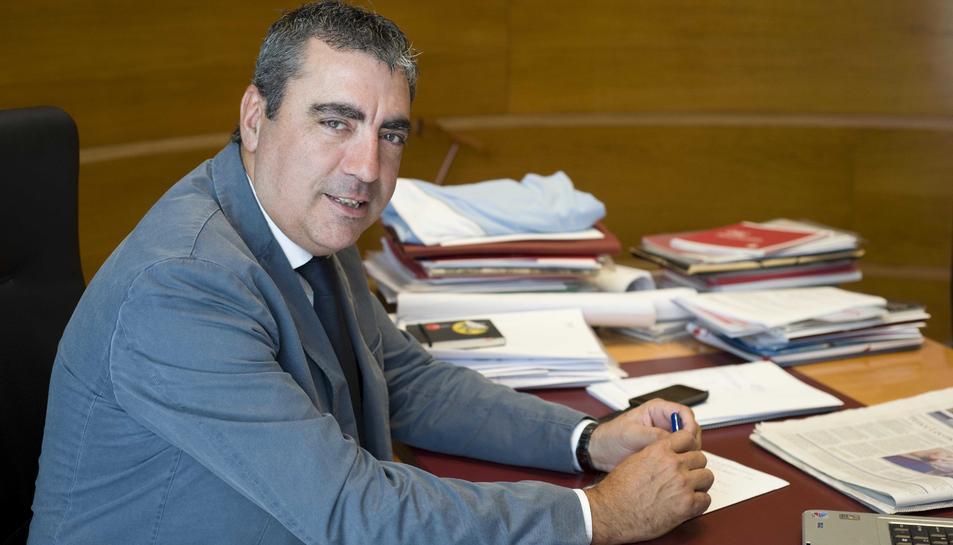 Albert Abelló, portaveu del Grup Municipal de CiU a l'Ajuntament de Tarragona.
