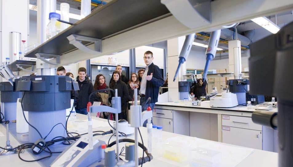 Primera jornada de portes obertes de la URV per a pares i estudiants de secundària