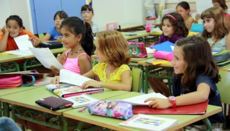 La davallada demogràfica a la ciutat suposa una reducció de 170 infants respecte al curs passat.