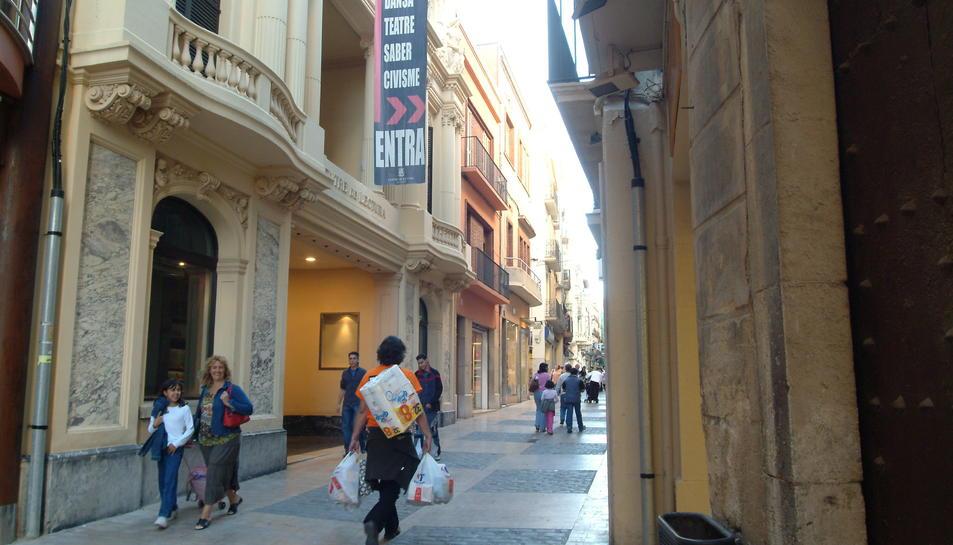 El Centre de Lectura de Reus, centre neuràlgic de la cultura a la ciutat.