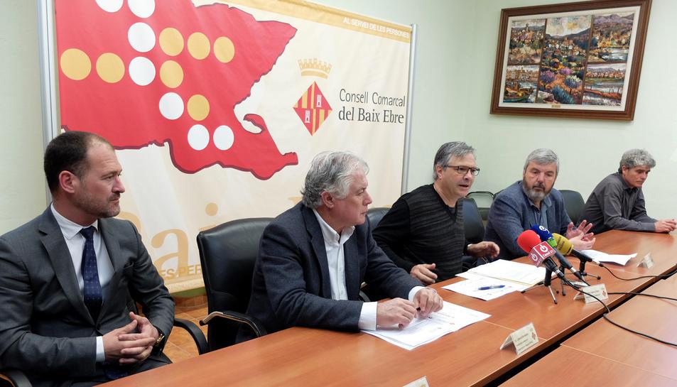 La segona de les trobades empresarials territorials arribà a Tortosa el pròxim 8 d'abril