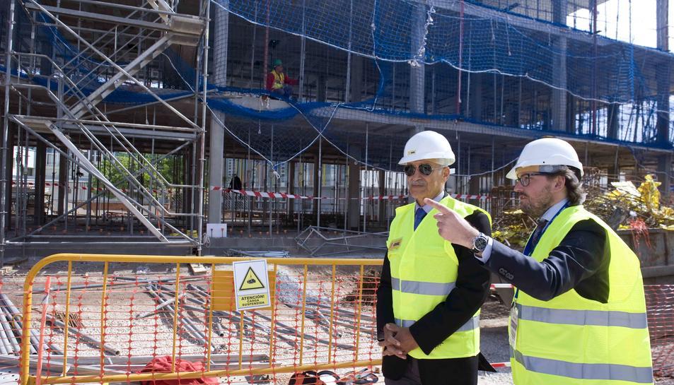 La coberta del Palau d'Esports és el motiu de renúncia de les adjudicatàries