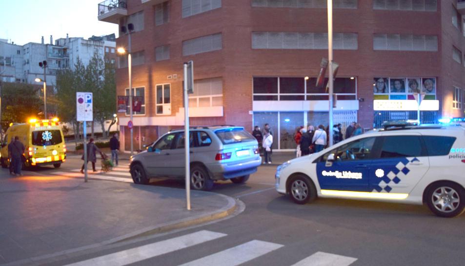 Un incident viari provoca una baralla al carrer Jaume I