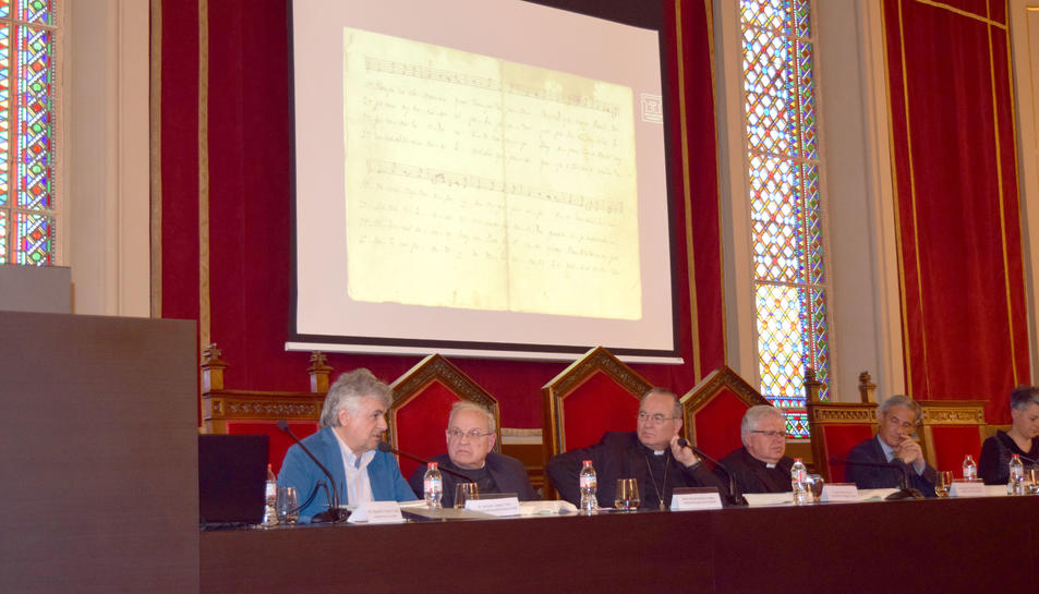 Ahir es va celebrar l'acte de presentació al Seminari.