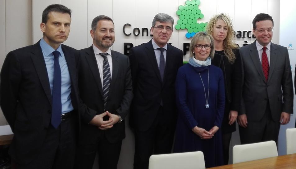 El Consell del Baix Penedès i MicroBank subscriuen un conveni de col·laboració