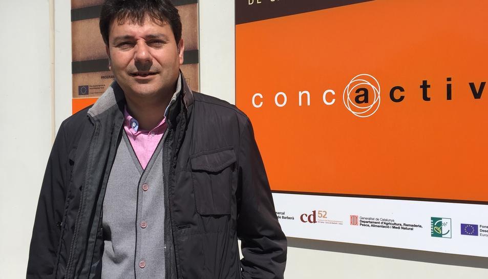 Francesc Benet és el nou vicepresident de l'Associació d'Iniciatives Rurals de Catalunya