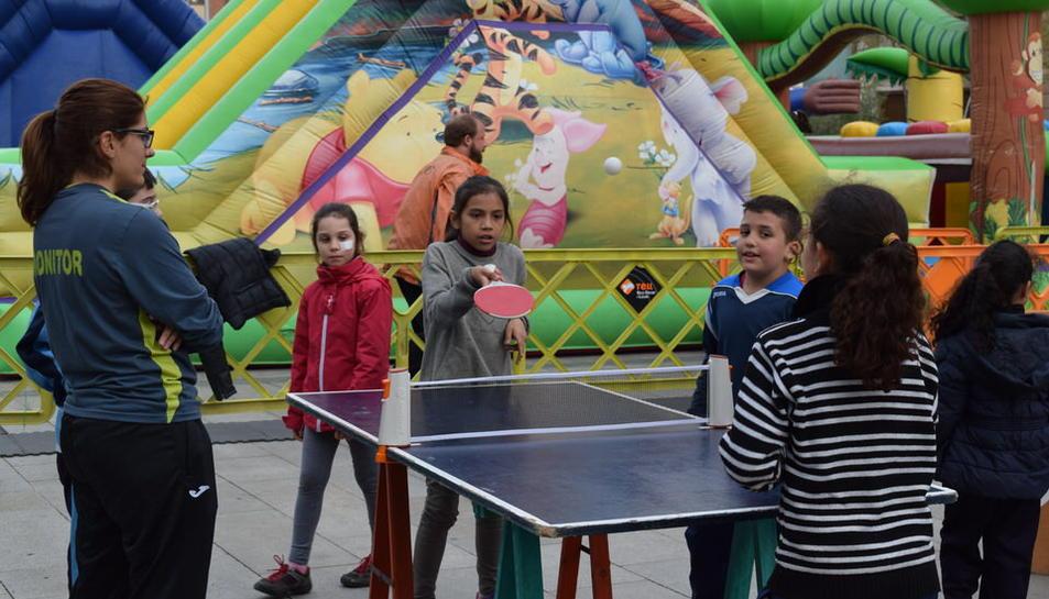 Inauguración de la 34ª Olimpiada Escolar de Reus