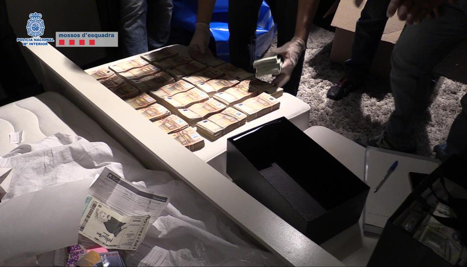 Desarticulada una macro organització criminal que abastia de cocaïna altres traficants