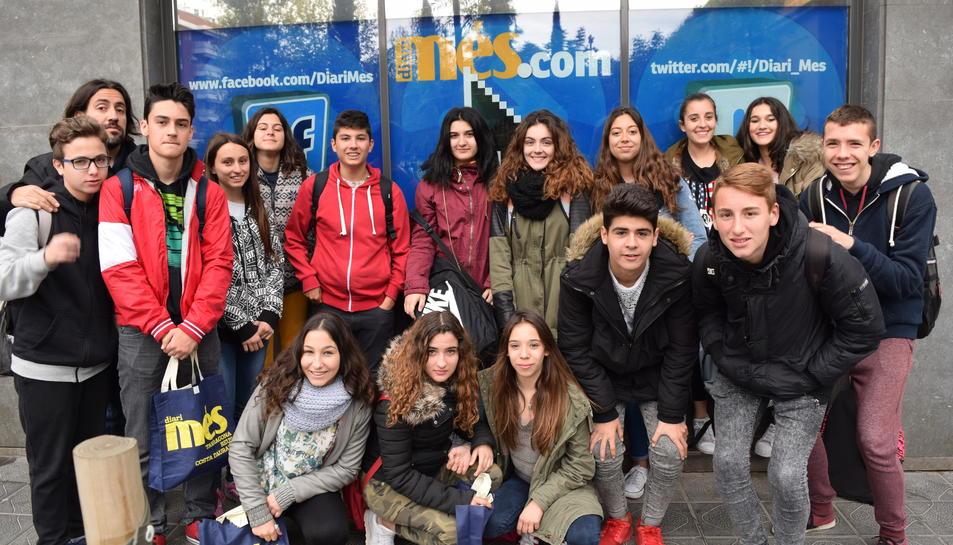 La Salle de Torreforta visita el Diari Més