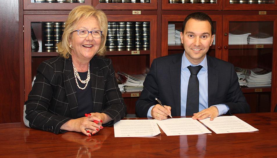 Mas Carandell i el Col·legi de Graduats Socials de Tarragona signen un conveni de col·laboració