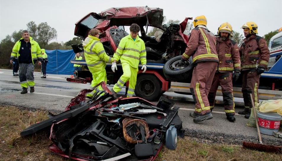El trist balanç del 2015: mig centenar de morts a les carreteres catalanes