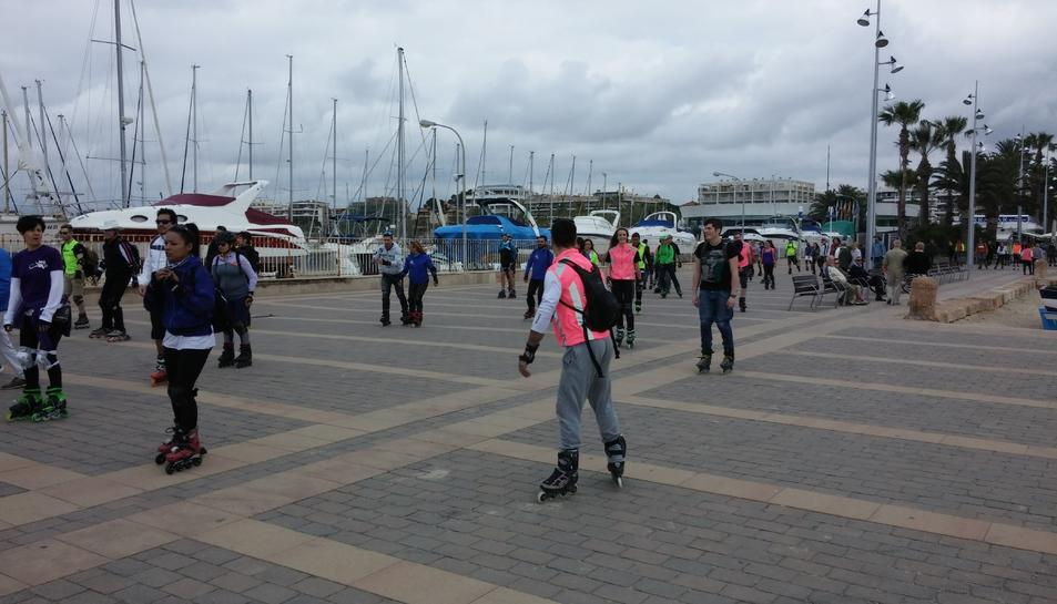 Ruta Costa Daurada amb patins