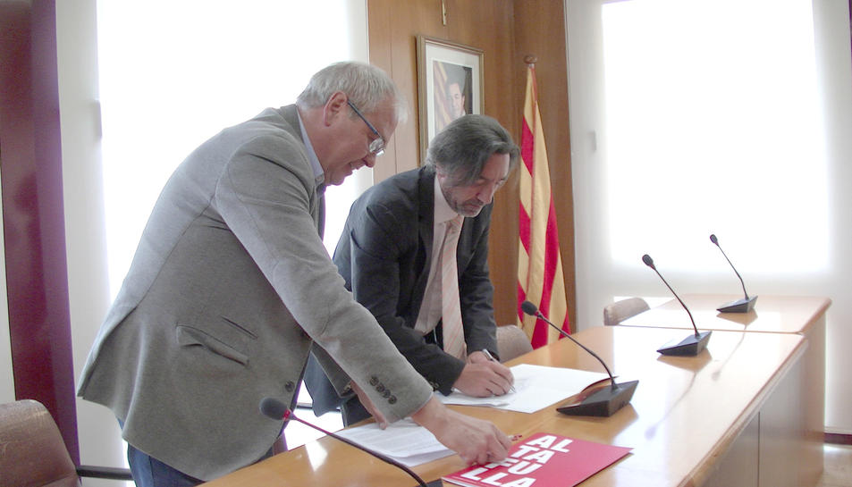 Alternativa Altafulla i CDC signen un acord de «continuïtat»