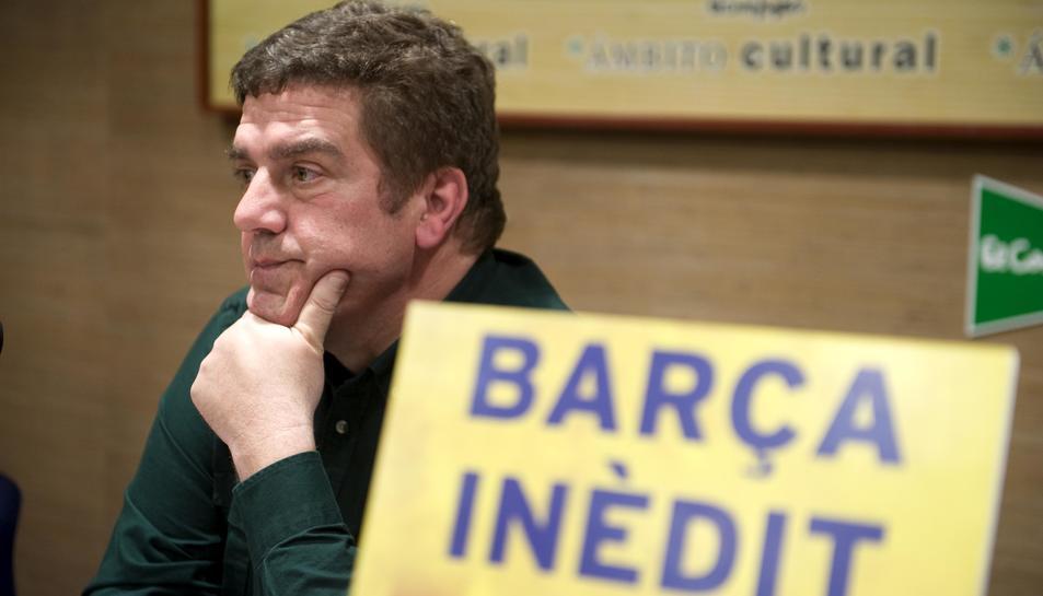 Frederic Porta inicia el cicle de presentacions literàries al Corte Inglés