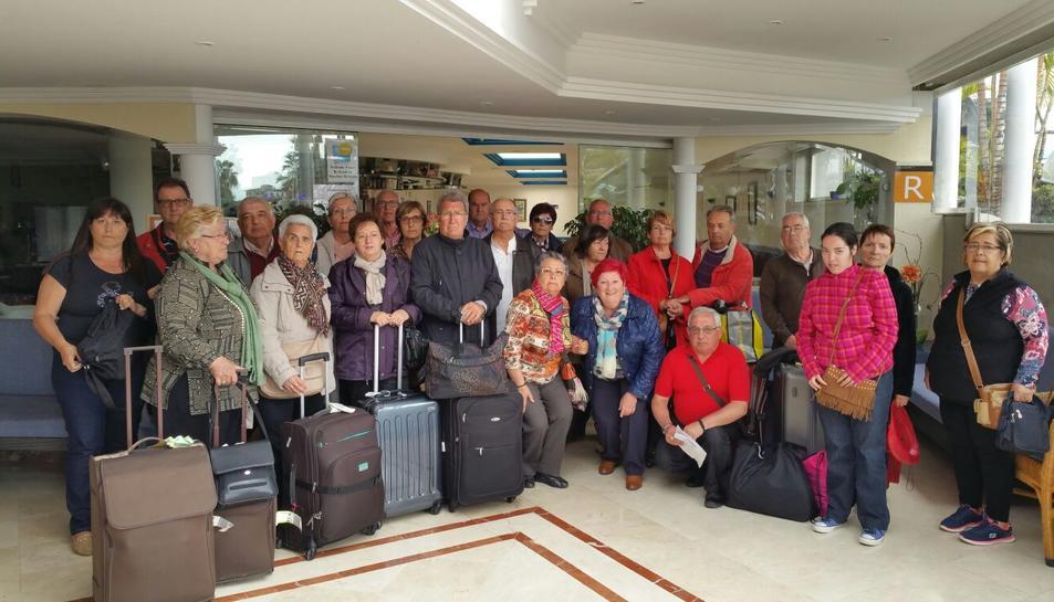 Un grup tarragoní de l'Imserso acaba amotinat a Canàries per l'«engany» de l'agència de viatges