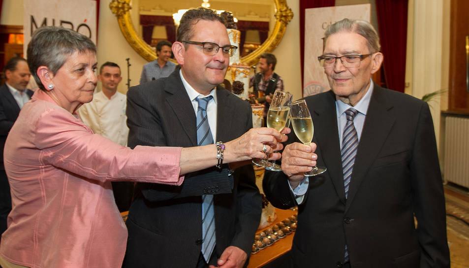 Mor Pere Miró Aguadé, president i fundador de l'empresa Vermuts Miró